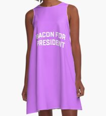 Bacon For President A-Line Dress