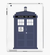 Blue Tardis Doctor Who | Cult tv iPad Case/Skin