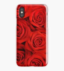 Red Spectacular Roses iPhone Case/Skin