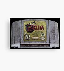 Zelda Time Canvas Print
