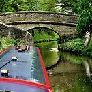 A snake bridge on the Macclesfield Canal, Cherhire, UK......! by Roy  Massicks