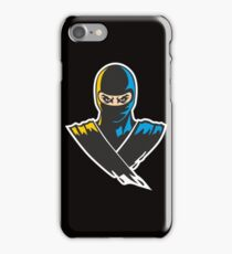 Ninja Warrior Martial Arts Karate iPhone Case/Skin