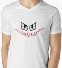 Joker Gotham Logo Mens V-Neck T-Shirt