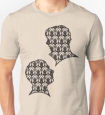 Sherlock Portraits - Wallpaper design T-Shirt