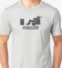 Maxell (black) Unisex T-Shirt