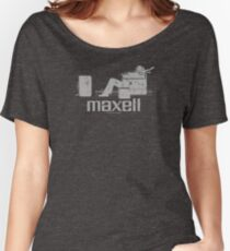 Maxell (white) Women's Relaxed Fit T-Shirt