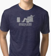 Maxell (white) Tri-blend T-Shirt