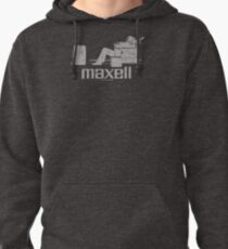 Maxell (white) Pullover Hoodie