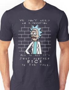 Just another Rick in the wall Unisex T-Shirt