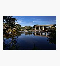 New Orleans City Park Peristyle Photographic Print
