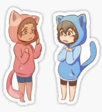 Klance Kitty Hoodies Sticker