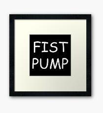 Fist Pump Framed Print