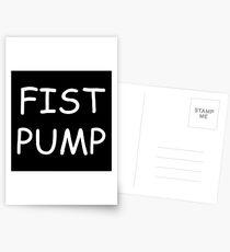 Fist Pump Postcards