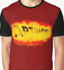Artwork with brush paint Graphic T-Shirt