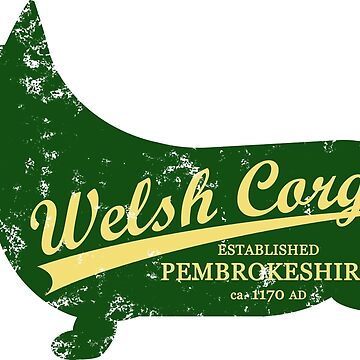 Welsh Corgi Athletic Jersey by ztrnorge