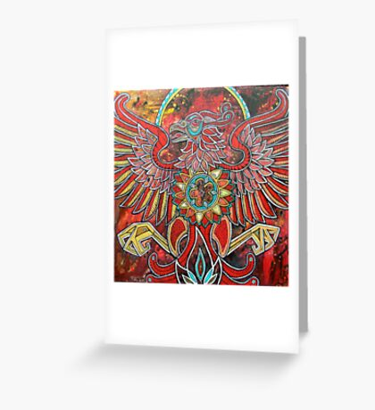 Flight of the Firebird Greeting Card