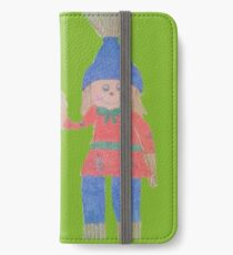 Friendly Fall Scarecrow iPhone Wallet/Case/Skin