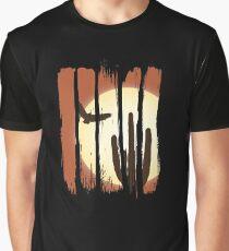 Beautiful Landscape Scene Illustration Brushstroke I Graphic T-Shirt