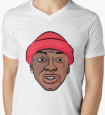 "Soulja Boy ""They Say Soulja Ain't From The Hood"" Men's V-Neck T-Shirt"