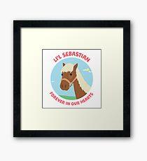 Li'l Sebastian - Parks and Recreation Framed Print