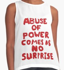 ABUSE OF POWER Contrast Tank