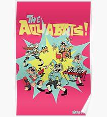 The Aquabats! Super Print! Poster