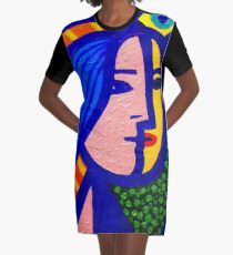 Homage To Picasso  Graphic T-Shirt Dress