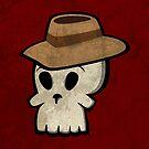 Mr. Skull Hat by peabody00
