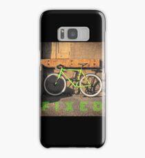 Green Fixie Samsung Galaxy Case/Skin