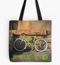 Green Fixie Tote Bag