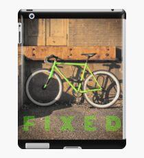 Green Fixie iPad Case/Skin