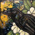 Alala (Hawaiian Crow) by Lynnette Shelley