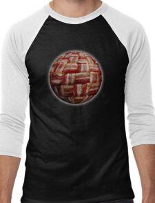 Bacon-Wrapped Football Soccer Ball 2 Men's Baseball ¾ T-Shirt