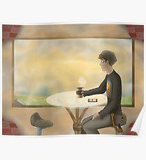 Coffee Shop {Mini Ladd} Poster