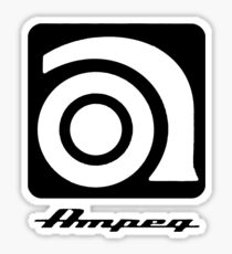 AMPEG guitar bass amp amplifier Sticker