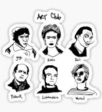 Art Club Sticker
