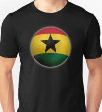 Ghana - Ghanaian Flag - Football or Soccer 2 Unisex T-Shirt