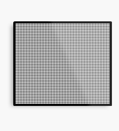 White Polka Dots  Metal Print