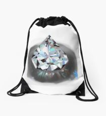 A girls best friend  Drawstring Bag