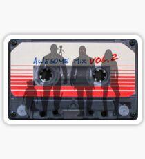 Awesome Mix Volume 2 (Sticker) Sticker