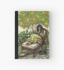 Everyday Witch Tarot - Nine of Pentacles Hardcover Journal