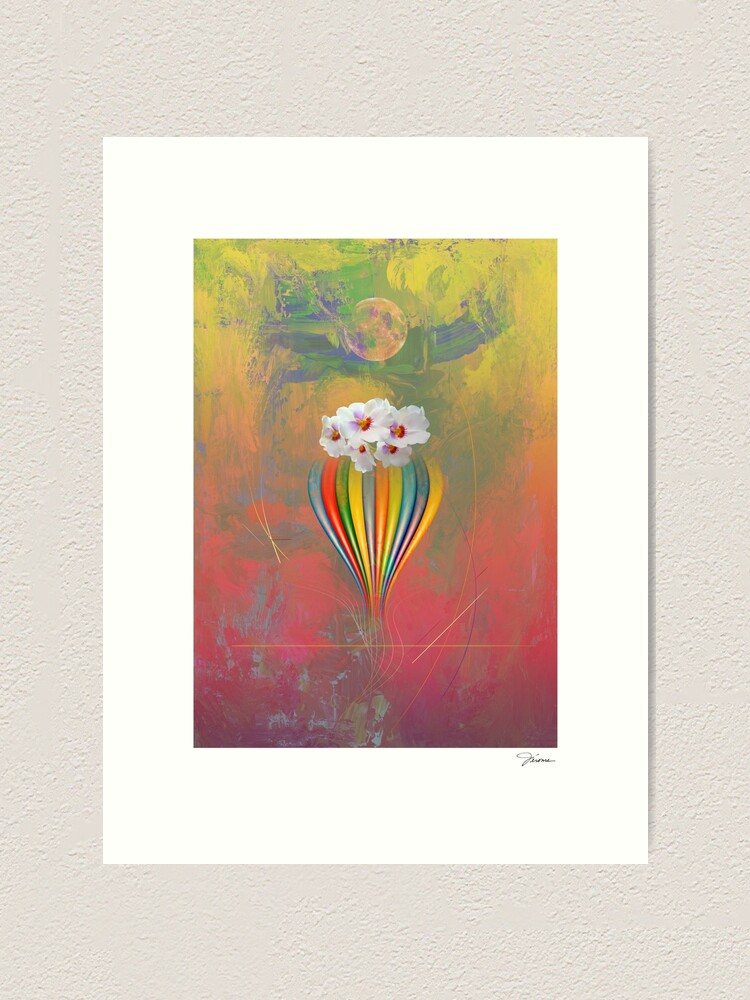 Alternate view of Orchids Art Print