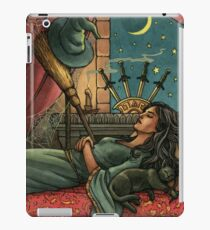 Everyday Witch Tarot - Four of Swords iPad Case/Skin