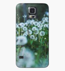 dusky dandelions Hülle & Klebefolie für Samsung Galaxy