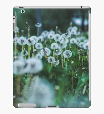 dusky dandelions iPad Case/Skin