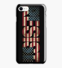 'RESIST' USA Protest Flag  iPhone Case/Skin