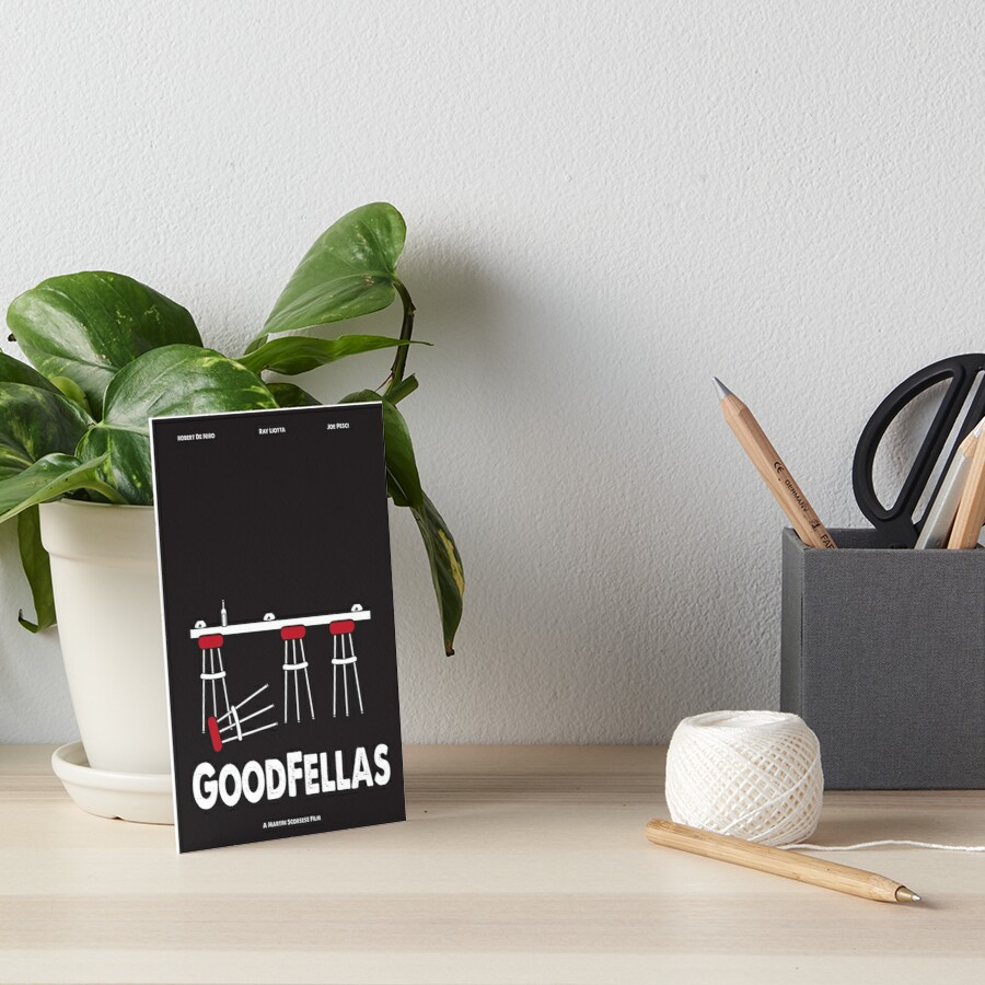 Goodfellas Galeriedruck