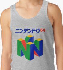 Japanese Nintendo 64 Tank Top