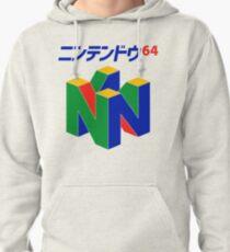 Japanese Nintendo 64 Pullover Hoodie