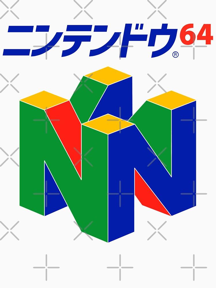 Japanisches Nintendo 64 von B-RADQS